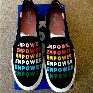 Brand new Keds slip on sneakers